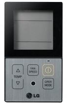 Индивидуальное управление LG PQRCVCL0Q (черный) / PQRCVCL0QW (белый)