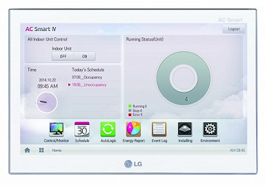 Центральное управление LG PACS4B000