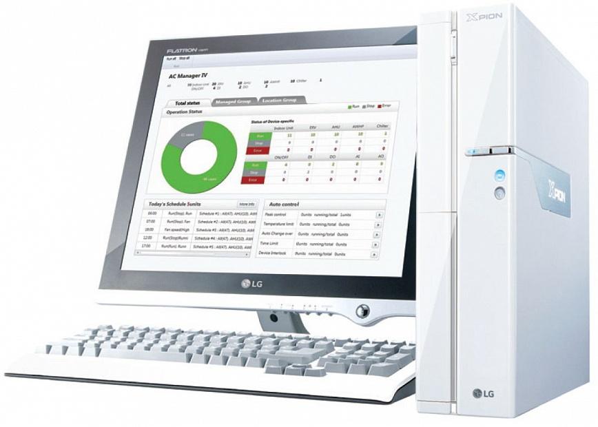 Центральное управление LG PACM4B000